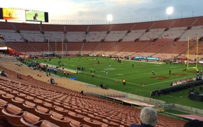 Ashleigh goes to Cal vs. USC game!