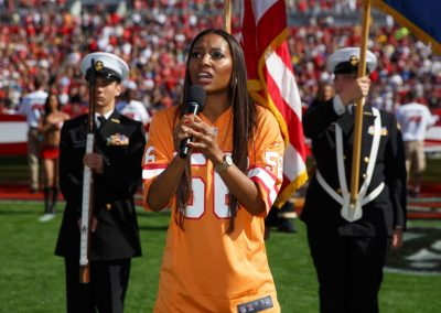 2014 National Anthem Tampa Bay Buccaneers