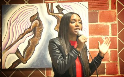 Ashleigh Performs at Haleigh Nickerson's Art Show!