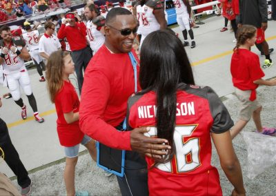 Ashleigh Nickerson Tampa Bay Buccaneers National Anthem
